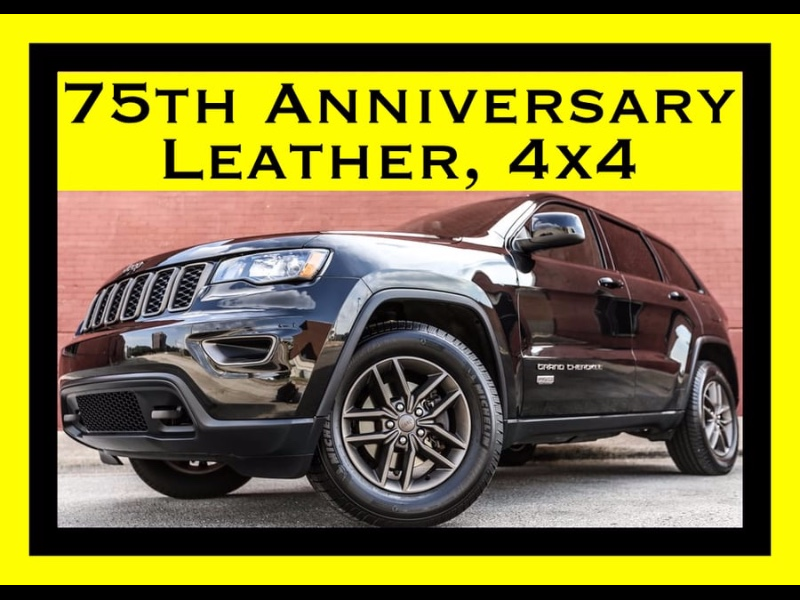 2016 Jeep Grand Cherokee 4WD Anniversary Edition LEATHER