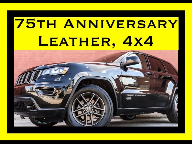 2016 Jeep Grand Cherokee 4x4 LEATHER