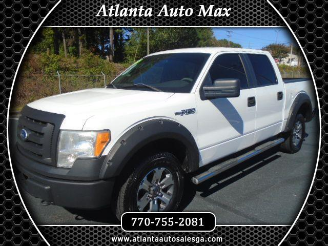 Ford F-150 XL SuperCrew 5.5-ft. Bed 4WD 2010