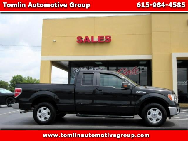 "2012 Ford F-150 2WD Supercab 133"" XLT"