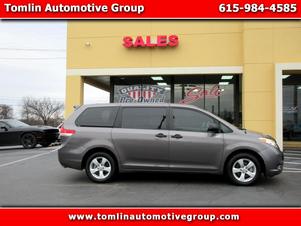 2012 Toyota Sienna 5dr 7-Pass Van LE AAS FWD (Natl)