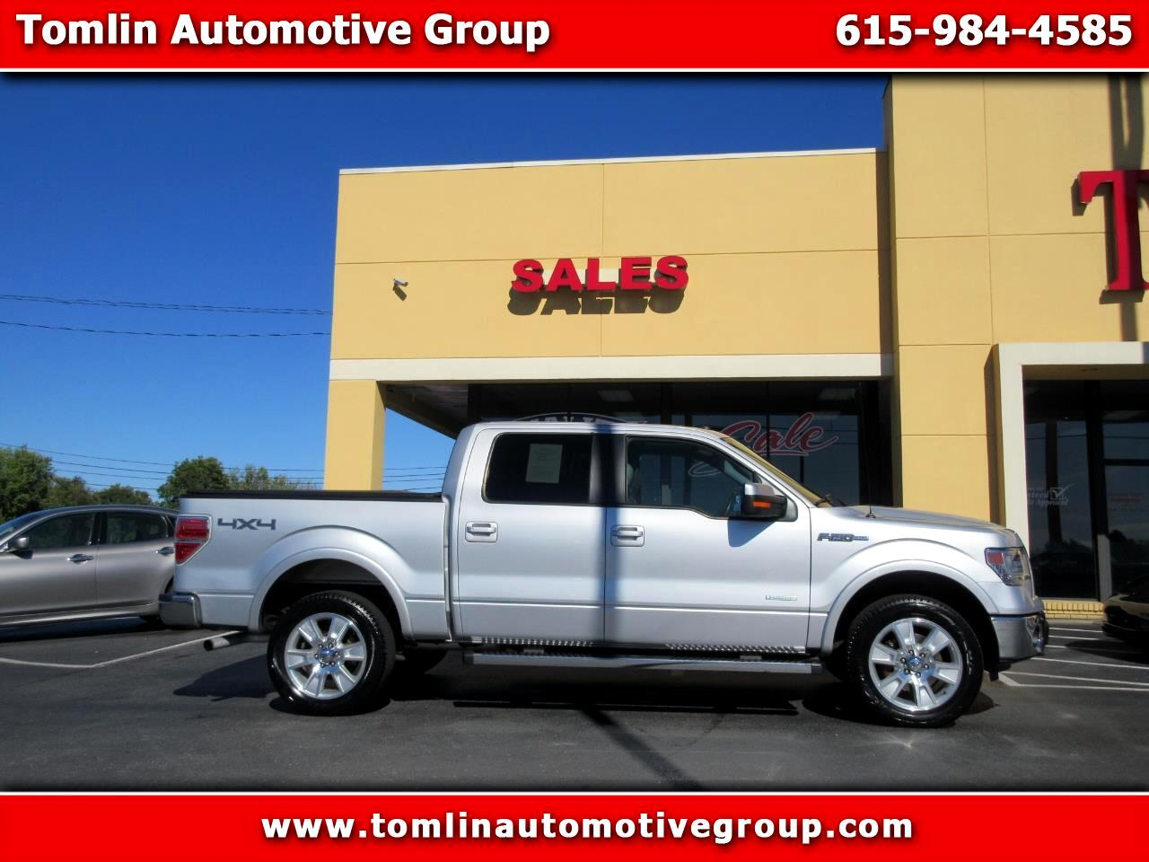 2013 Ford F-150 Lariat SuperCrew Short Box 4WD
