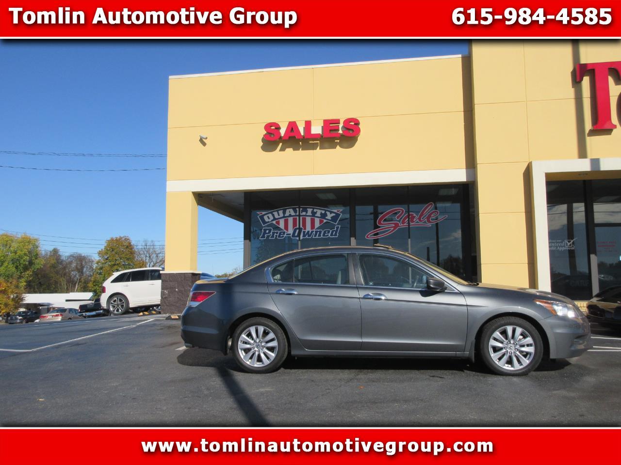 2011 Honda Accord Sdn 4dr V6 Auto EX-L