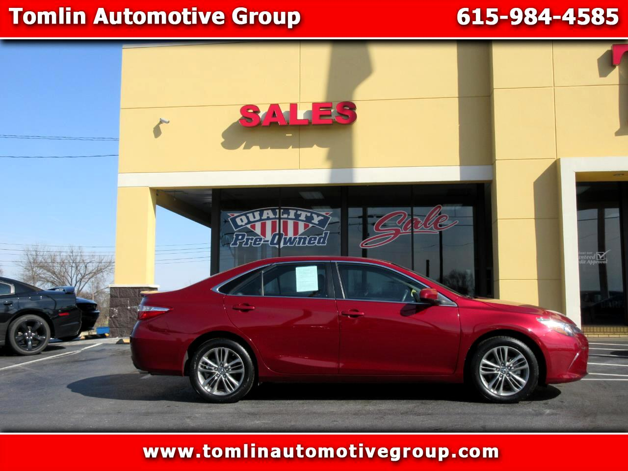 2017 Toyota Camry 2014.5 4dr Sdn I4 Auto SE Sport (Natl)