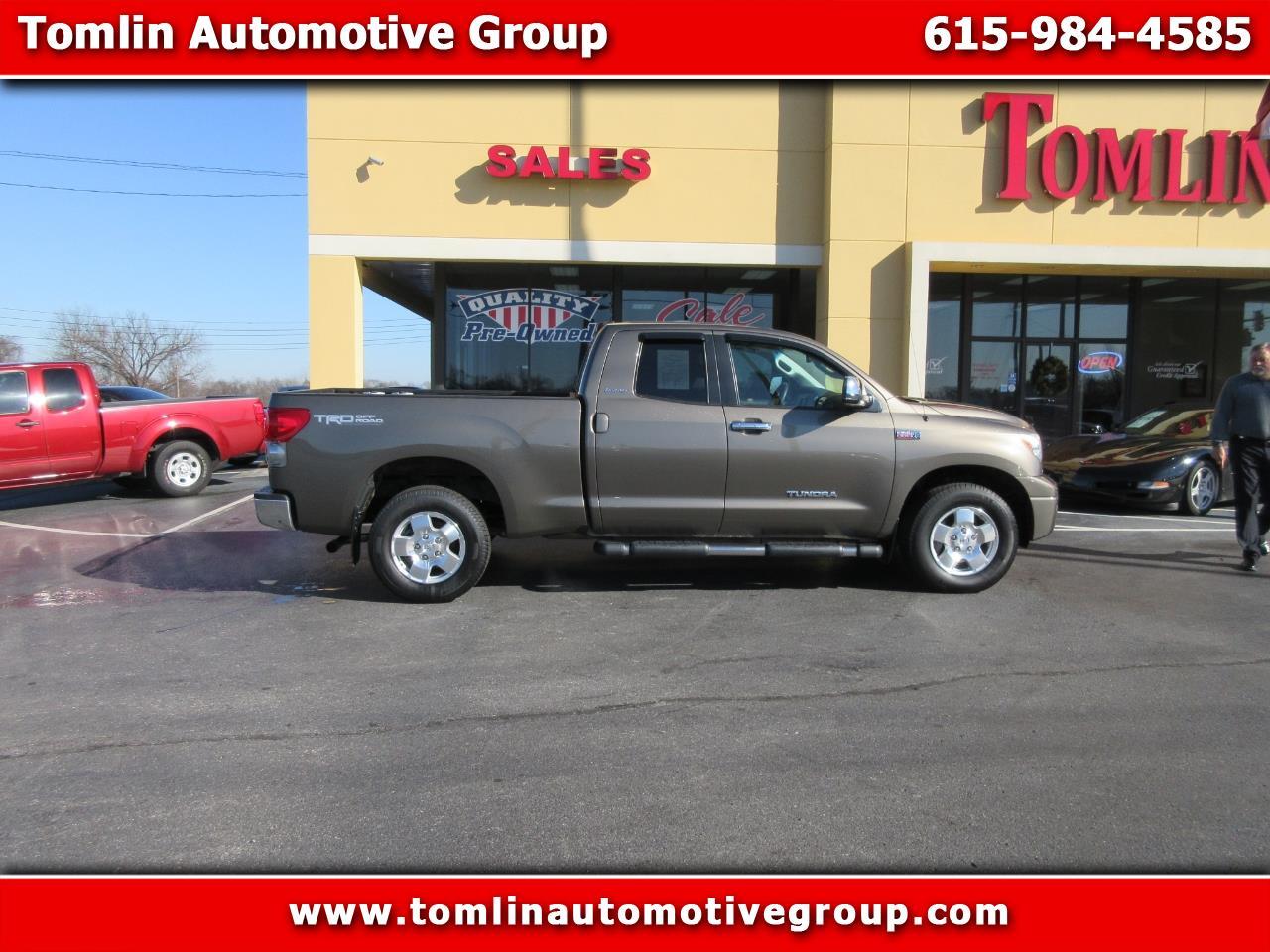2008 Toyota Tundra 4WD Truck Dbl 5.7L V8 6-Spd AT LTD (Natl