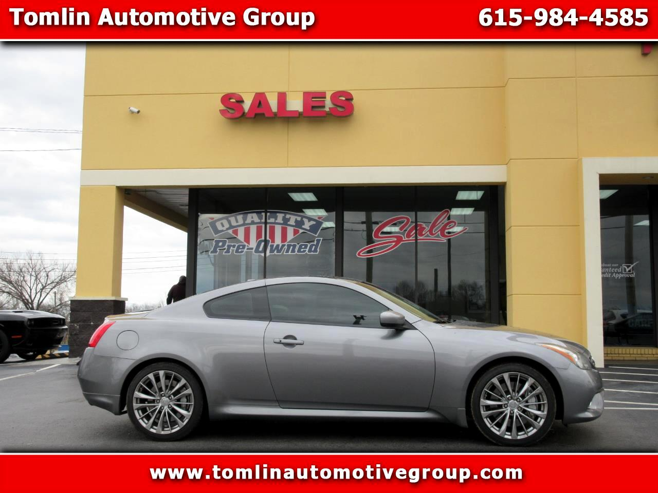 2011 Infiniti G37 Coupe 2dr Sport