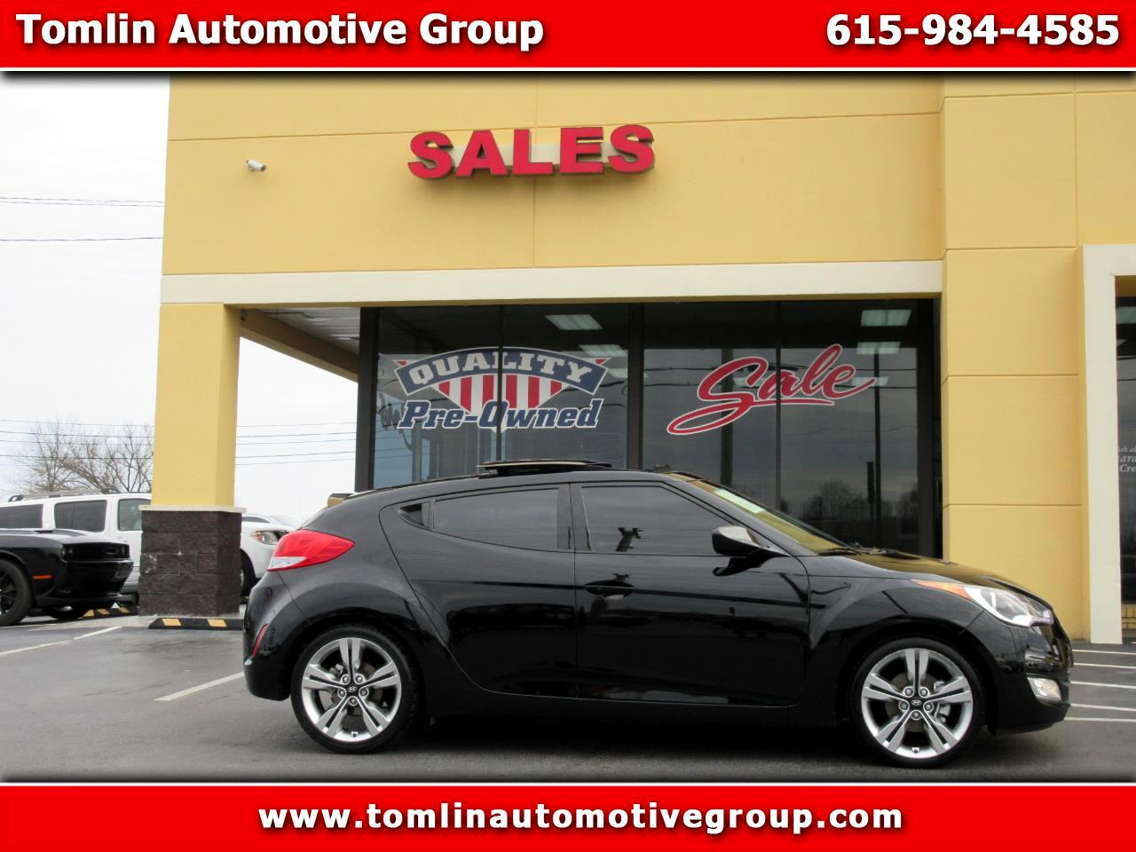 2014 Hyundai Veloster 3dr Cpe Auto RE:FLEX w/Red Int