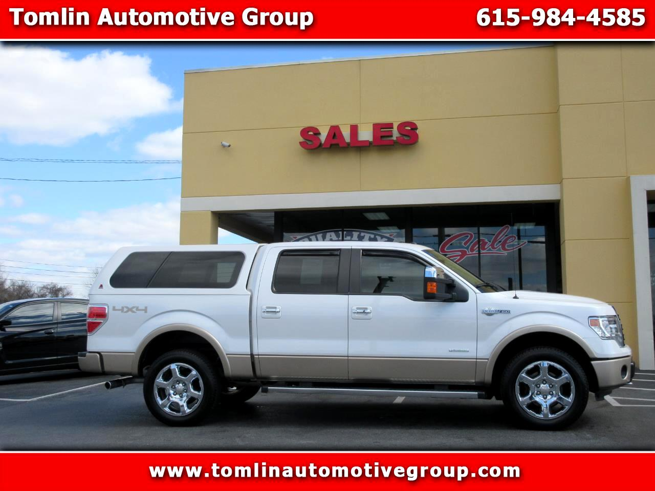 "2014 Ford F-150 4WD SuperCrew 139"" King Ranch"