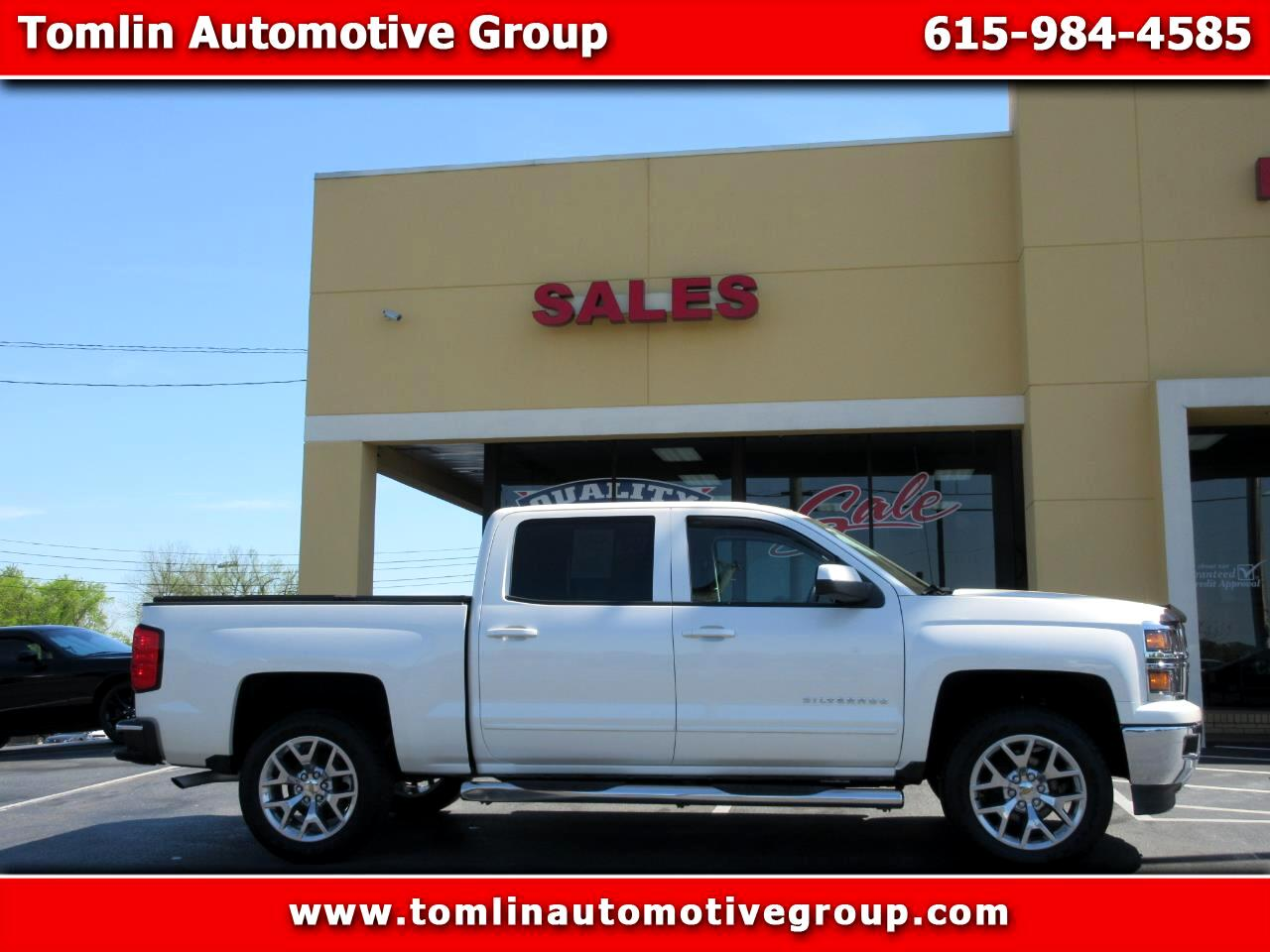 2015 Chevrolet Silverado 1500 Z71 Short Bed 4WD