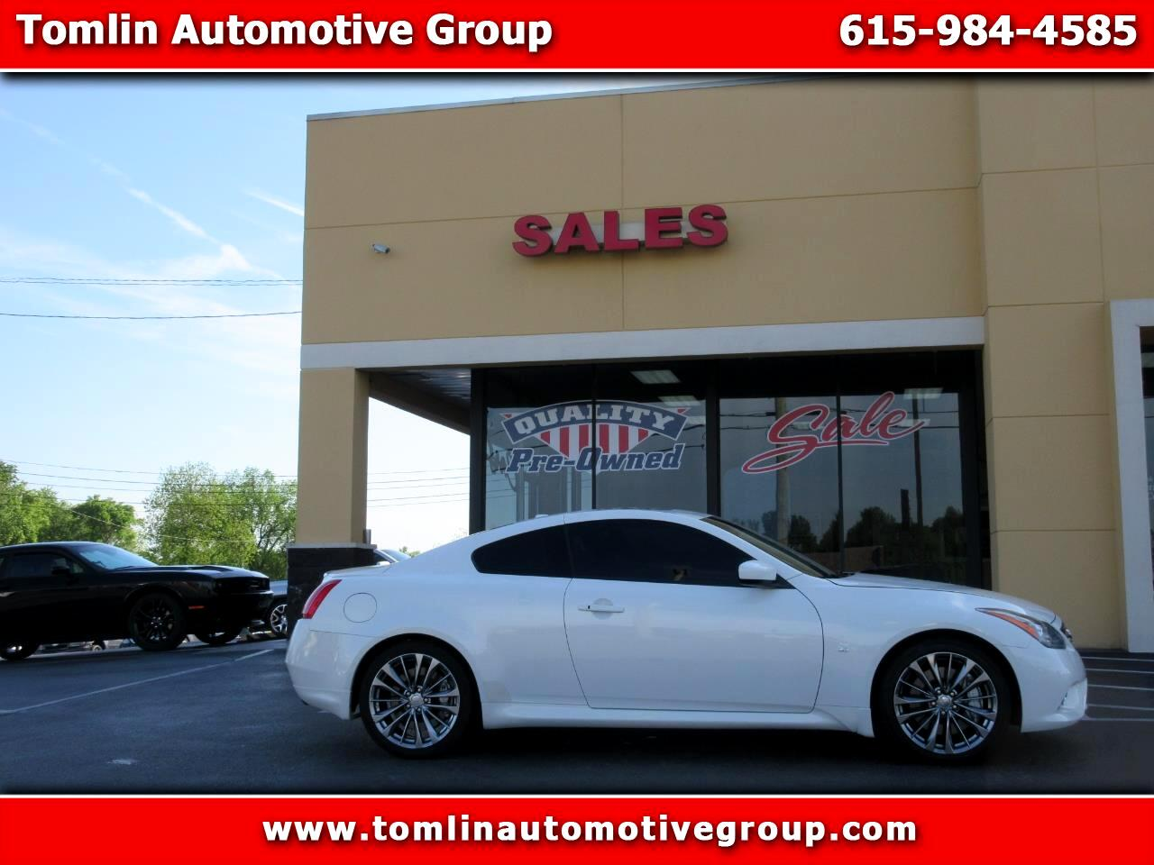 2014 Infiniti Q60 Coupe 2dr Auto S Limited RWD