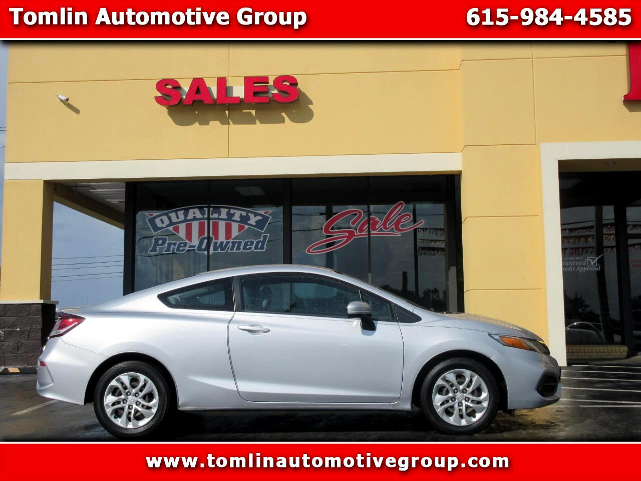 Honda Civic Coupe 2dr CVT LX 2015