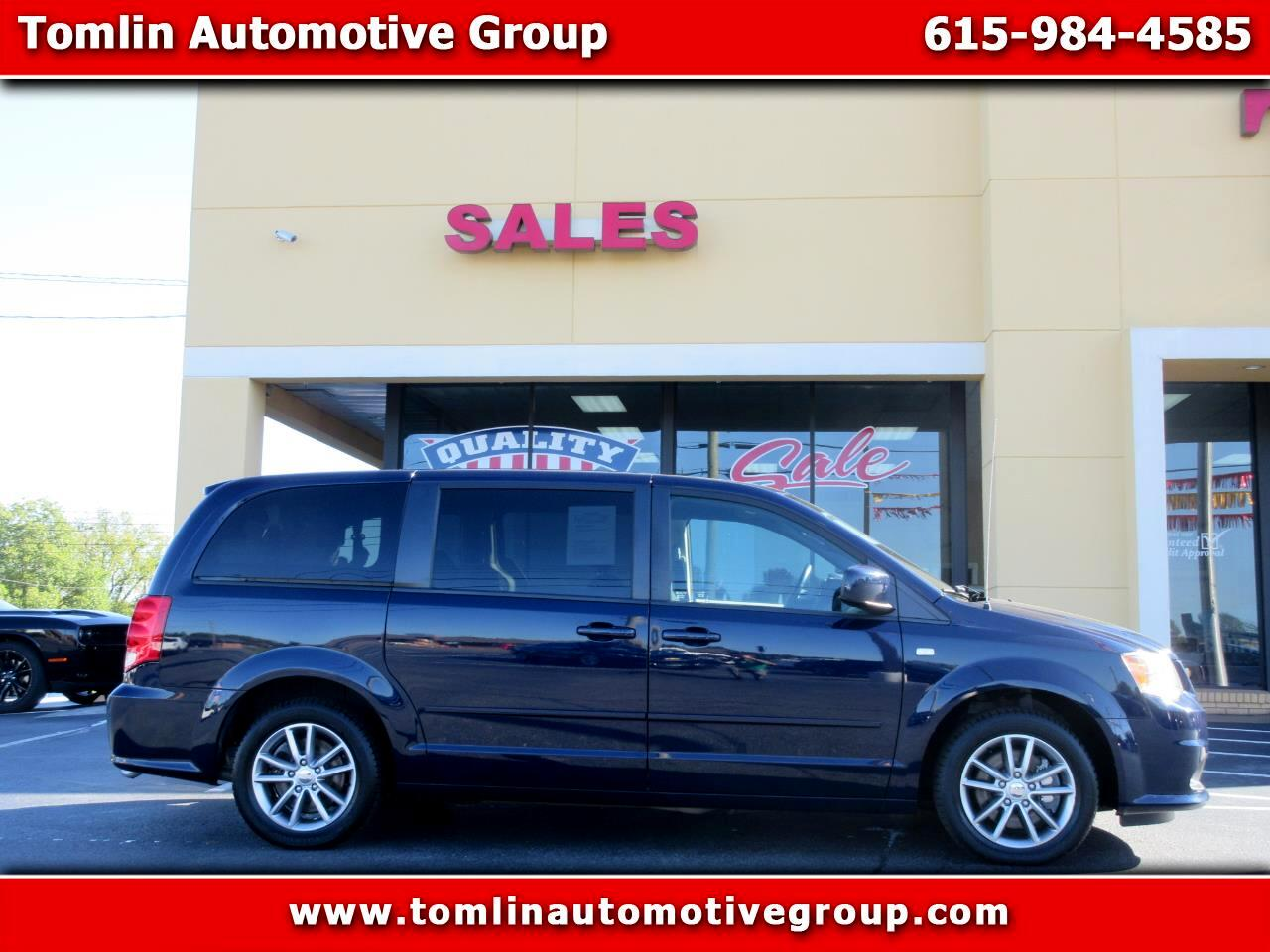 Dodge Grand Caravan 4dr Wgn SE 30th Anniversary 2014