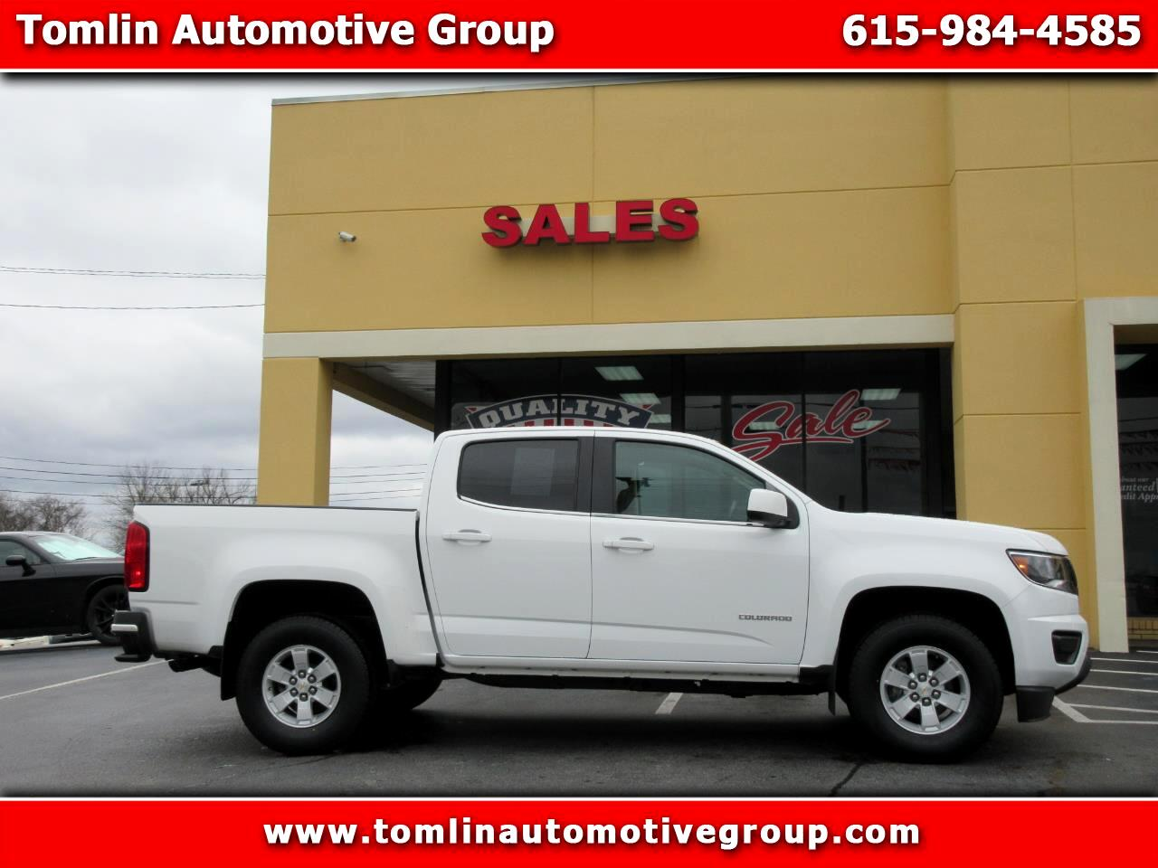 "Chevrolet Colorado 2WD Crew Cab 128.3"" WT 2016"