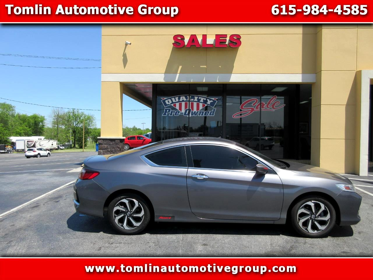 Honda Accord Coupe 2dr I4 CVT LX-S 2016
