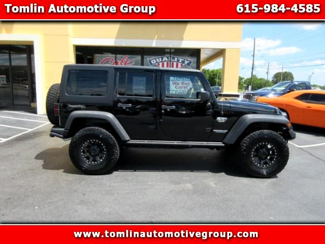 2012 Jeep Wrangler Unlimited Rubicon MW3 Edition