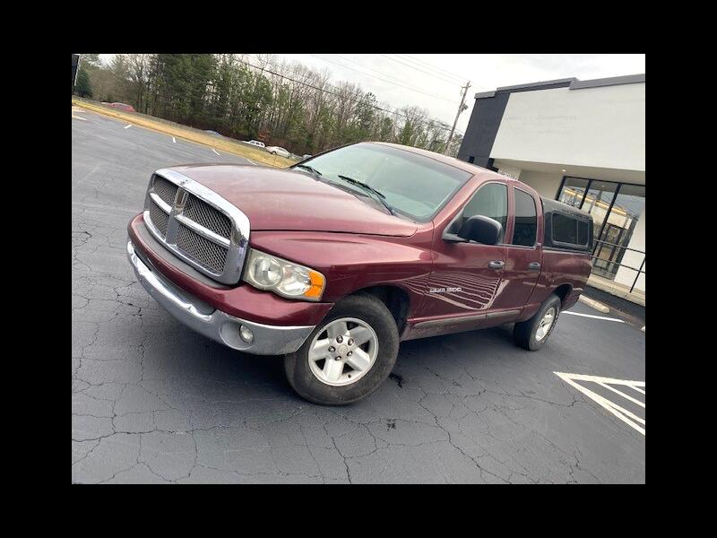 Dodge Ram 1500 SLT Quad Cab Long Bed 2WD 2002