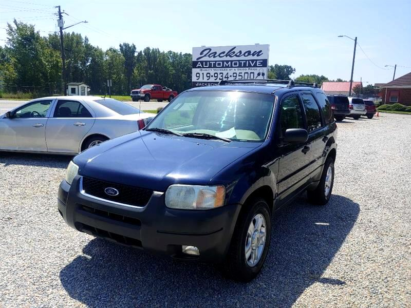 Ford Escape XLT Sport 4WD 2003