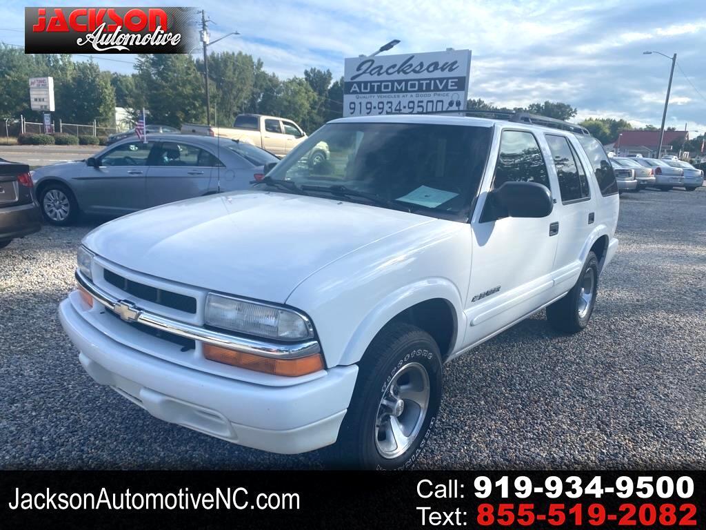 Chevrolet Blazer 4-Door 2WD LS 2002
