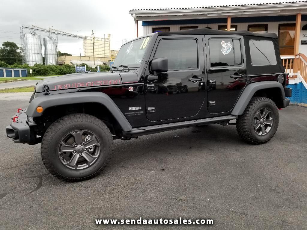 2018 Jeep Wrangler JK Unlimited Rubicon 4WD