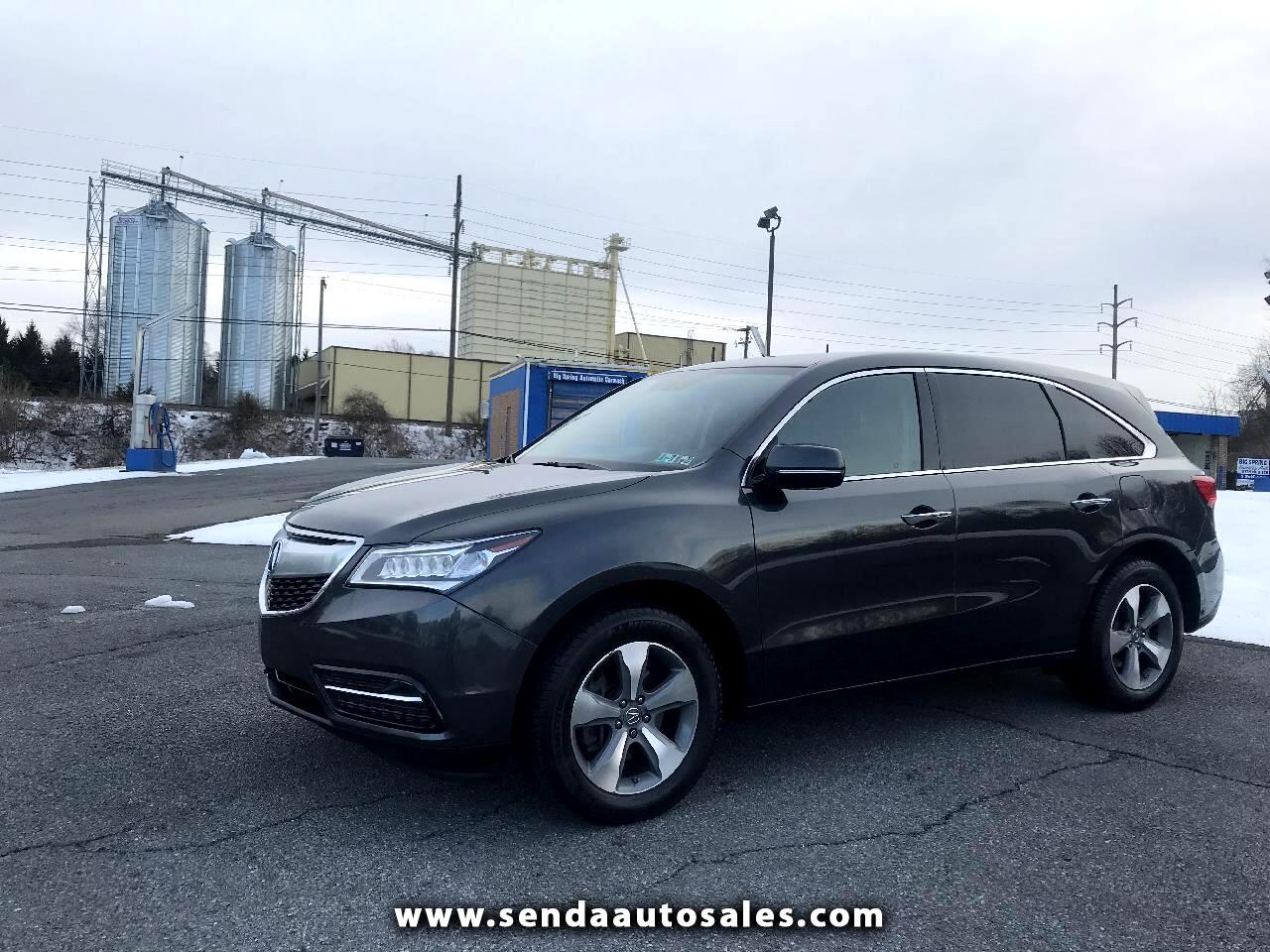 2014 Acura MDX SH-AWD 6-Spd AT