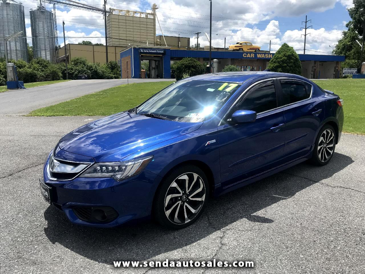 2017 Acura ILX 8-Spd AT w/ Premium & A-SPEC Packages
