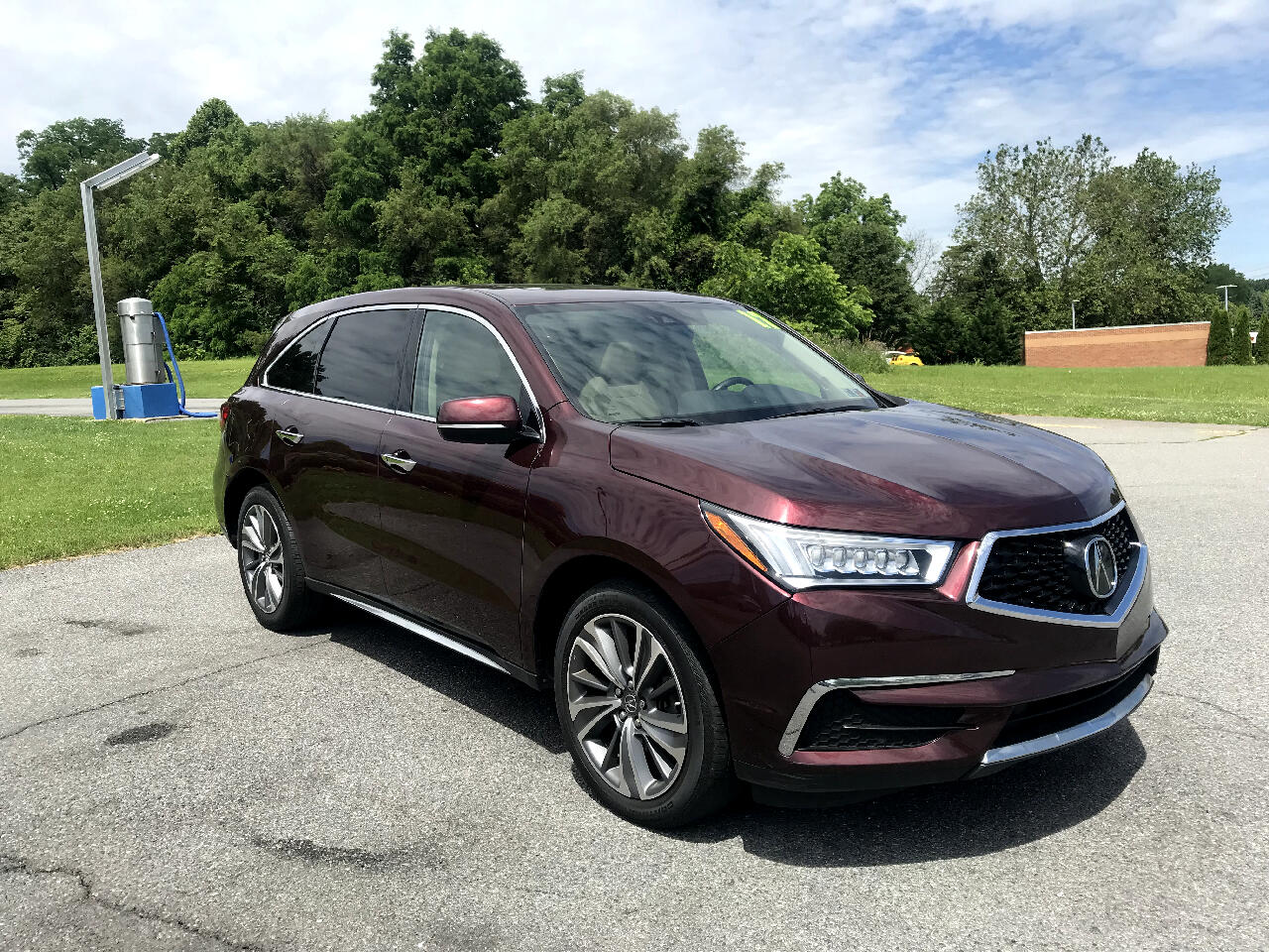 2017 Acura MDX SH-AWD 9-Spd AT w/Tech and Entertainment Package