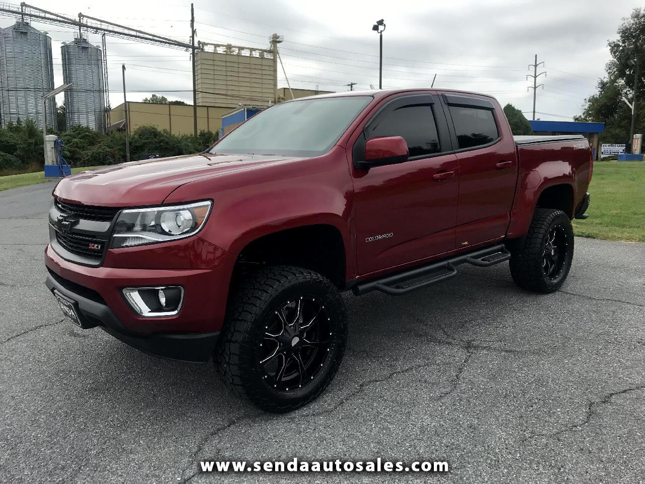 2018 Chevrolet Colorado Z71 Crew Cab 4WD Long Box