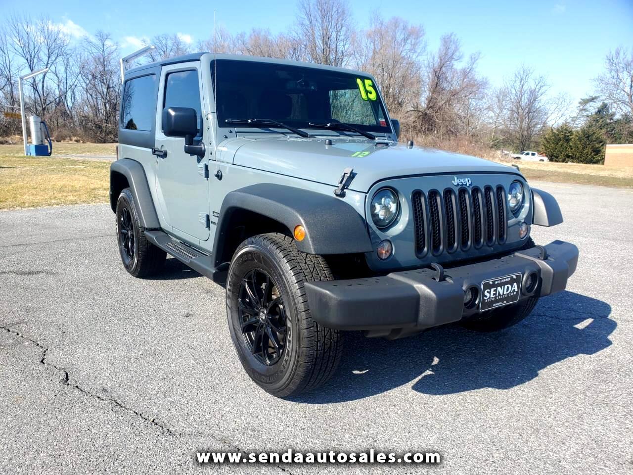 Jeep Wrangler Sport 4WD 2015