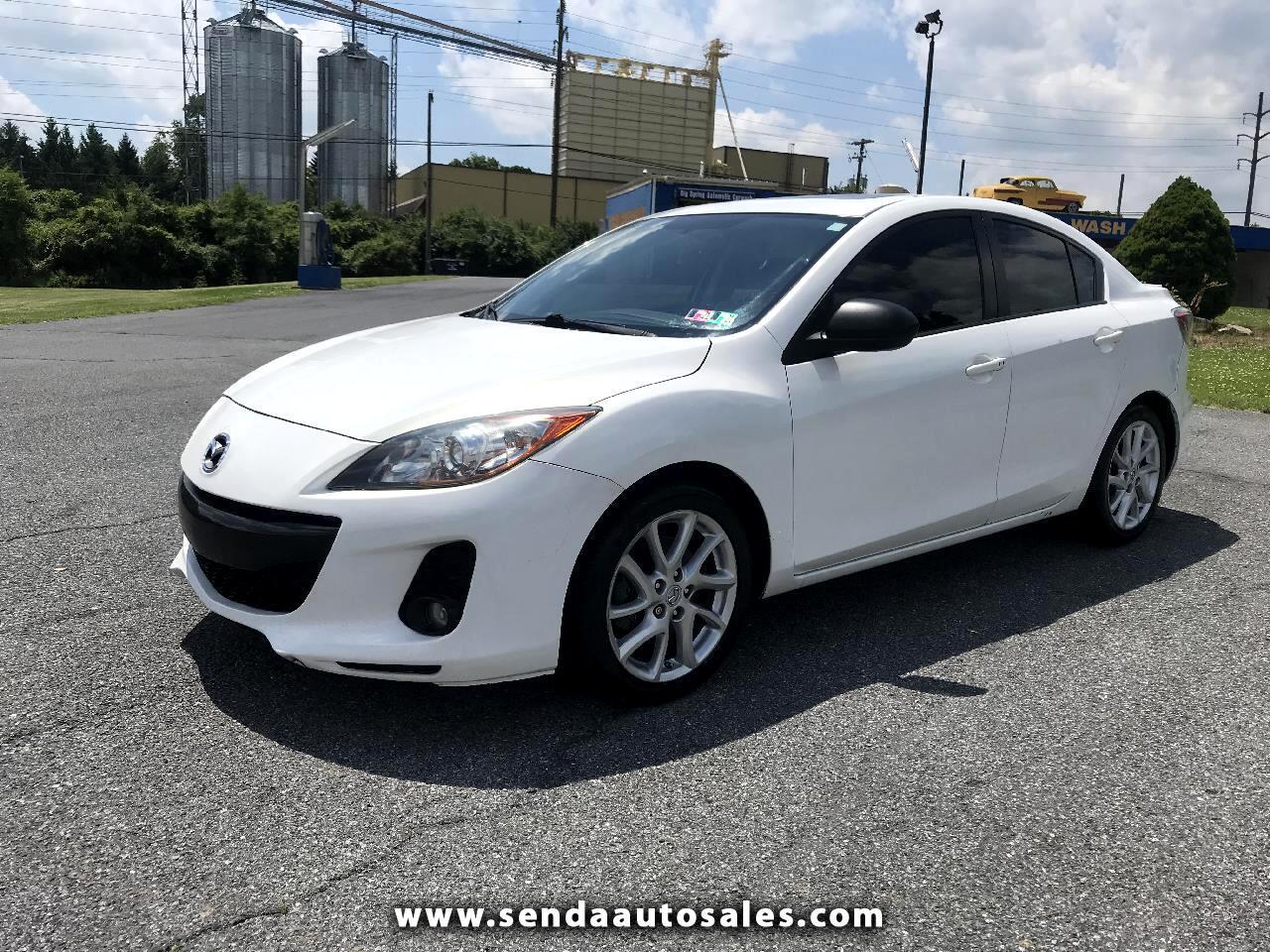 Mazda MAZDA3 i Touring 4-door 2012