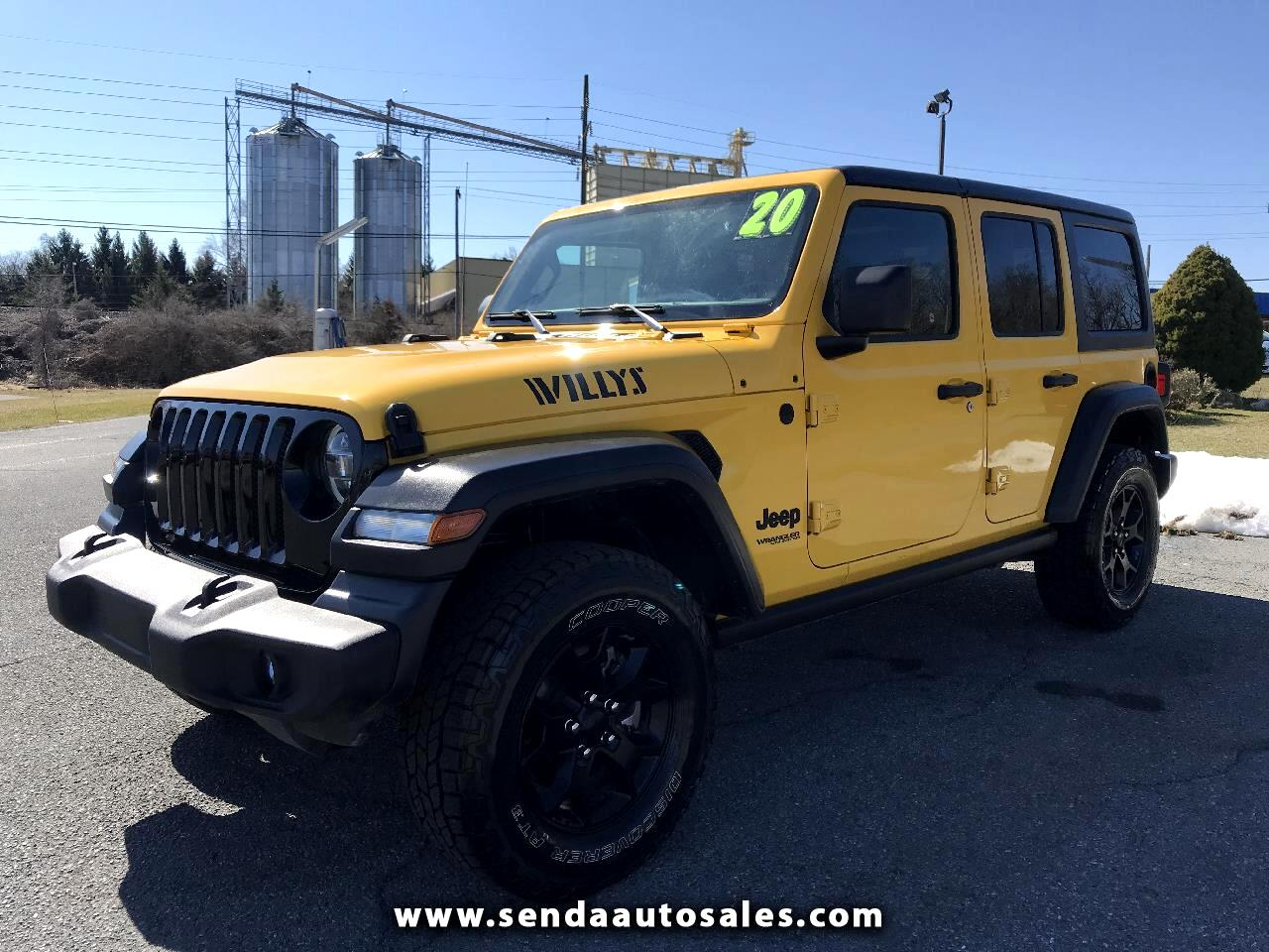 Jeep Wrangler Unlimited Sport S 2020