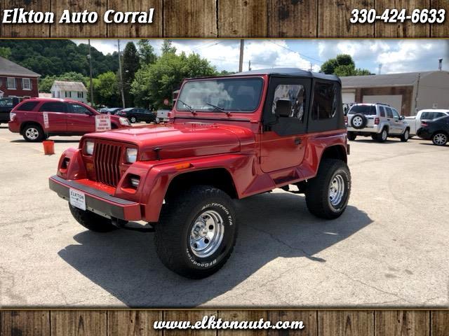 1993 Jeep Wrangler Renegade