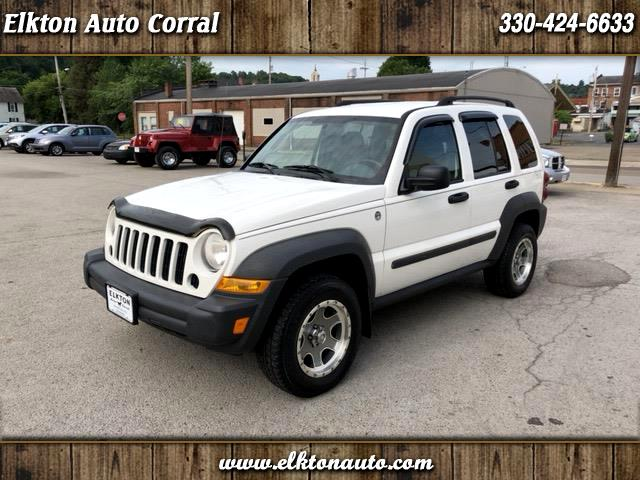 2007 Jeep Liberty 4dr Sport 4WD