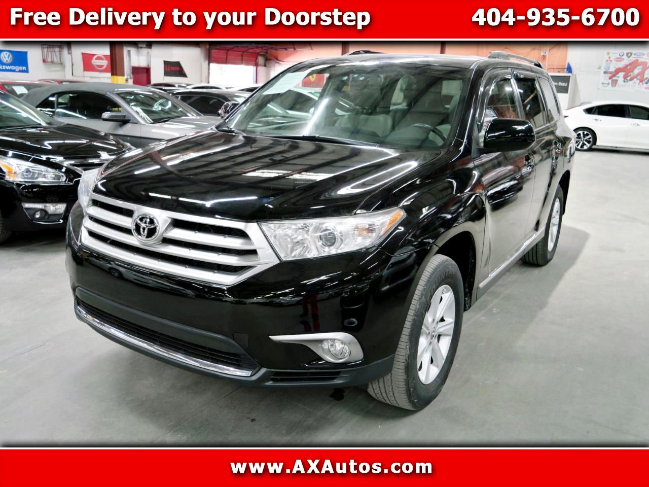 2013 Toyota Highlander Plus V6 4WD