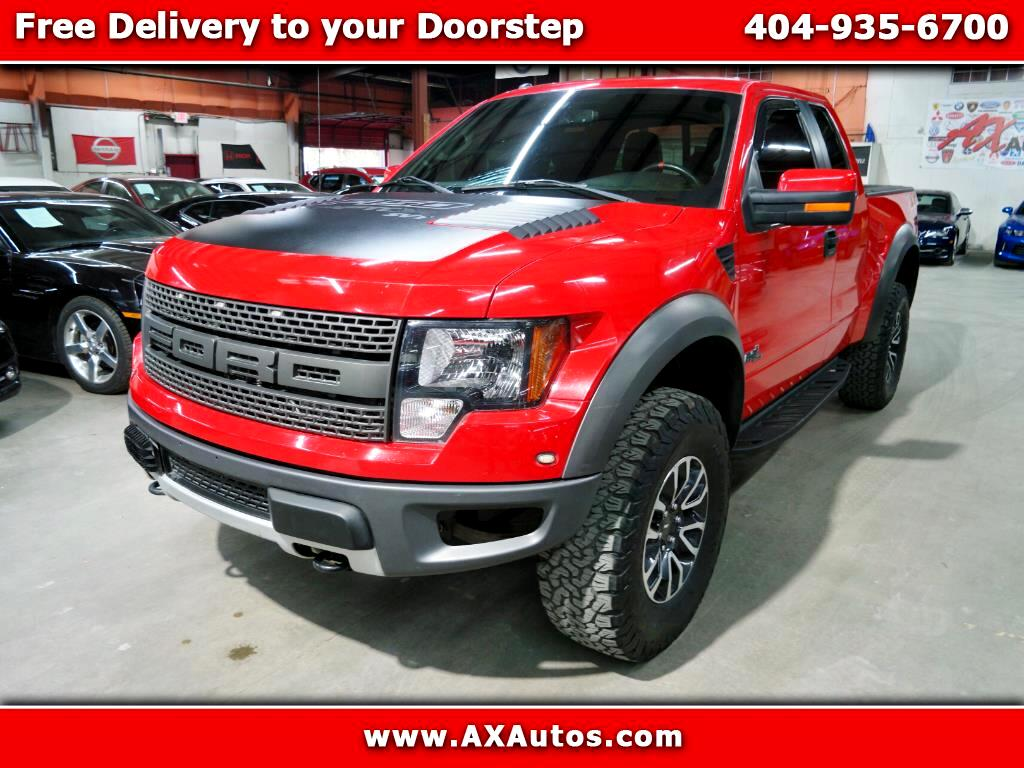 2012 Ford F-150 SVT Raptor SuperCab 5.5-ft. Bed 4WD