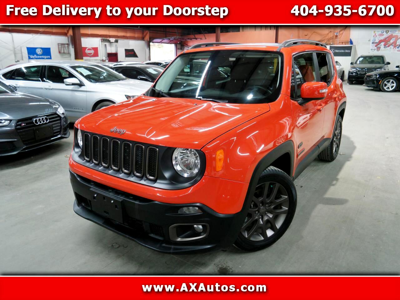 2016 Jeep Renegade FWD 4dr 75th Anniversary