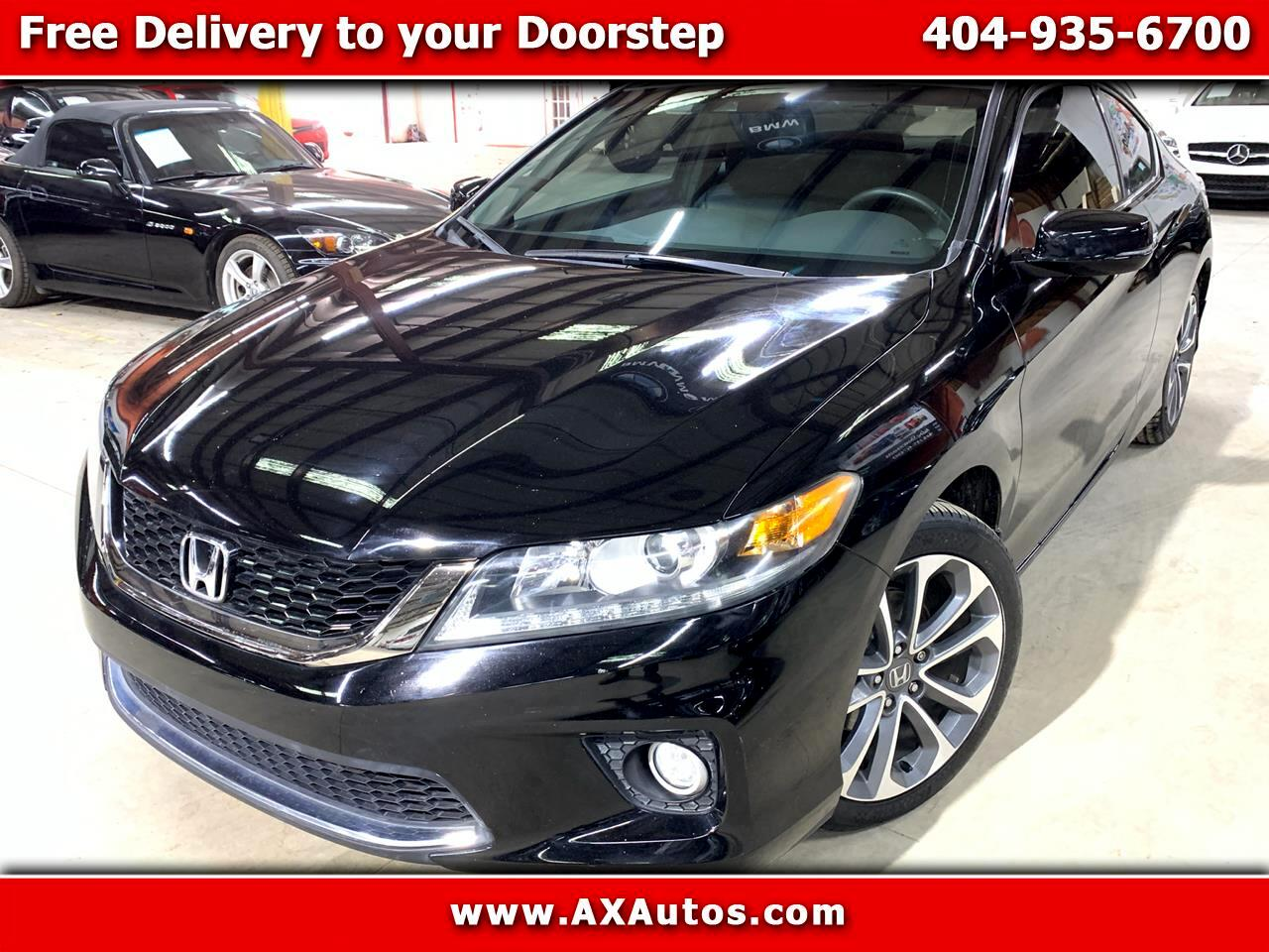 2013 Honda Accord EX-L V6 Coupe MT
