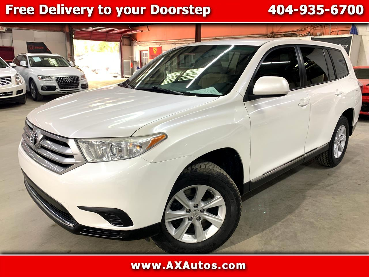 Toyota Highlander Base 2WD I4 2013