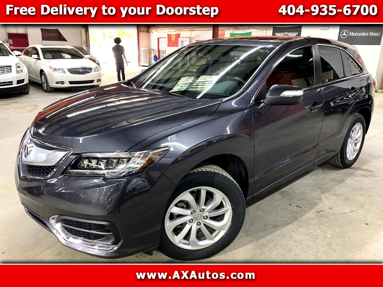 Acura RDX 6-Spd AT w/ Technology Package 2016