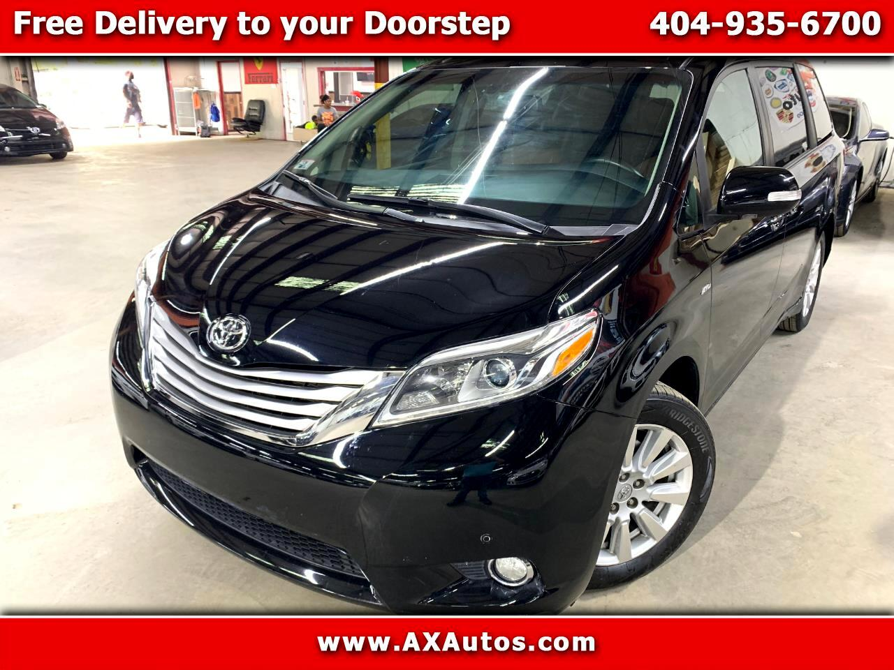 2017 Toyota Sienna Limited AWD 7-Pass V6