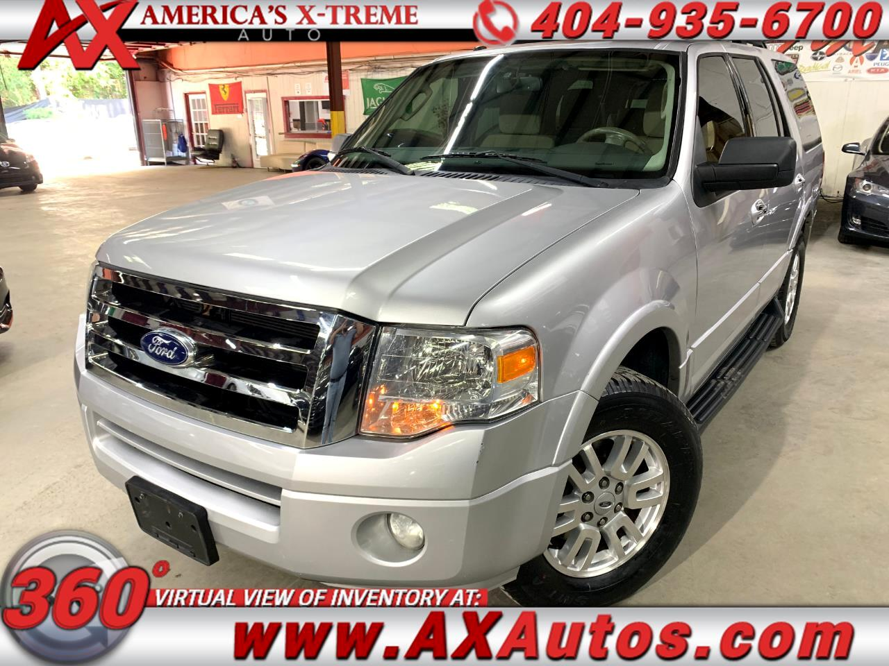 """Ford Expedition 119"""" XLT 2012"""