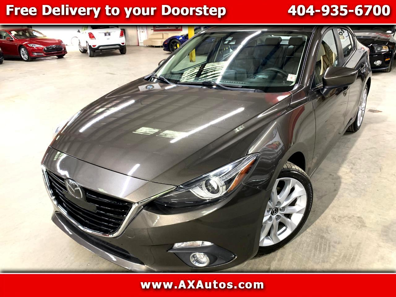 2014 Mazda MAZDA3 s Grand Touring AT 4-Door