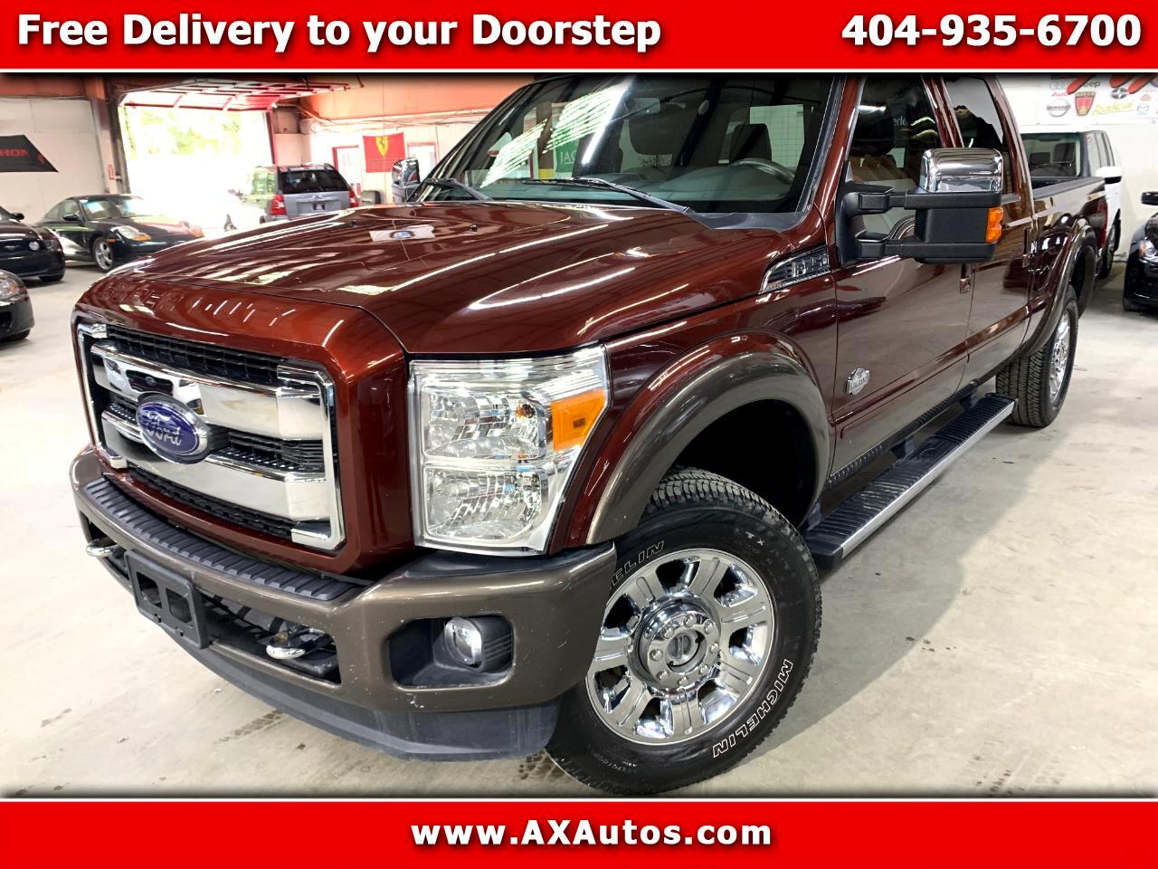 2015 Ford F-250 SD King Ranch 4WD