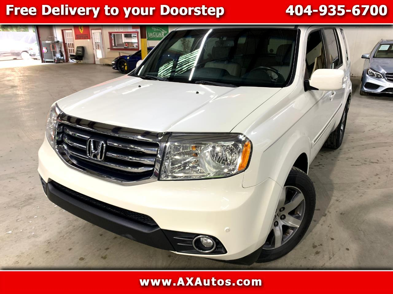 2014 Honda Pilot Touring 2WD 5-Spd AT with DVD