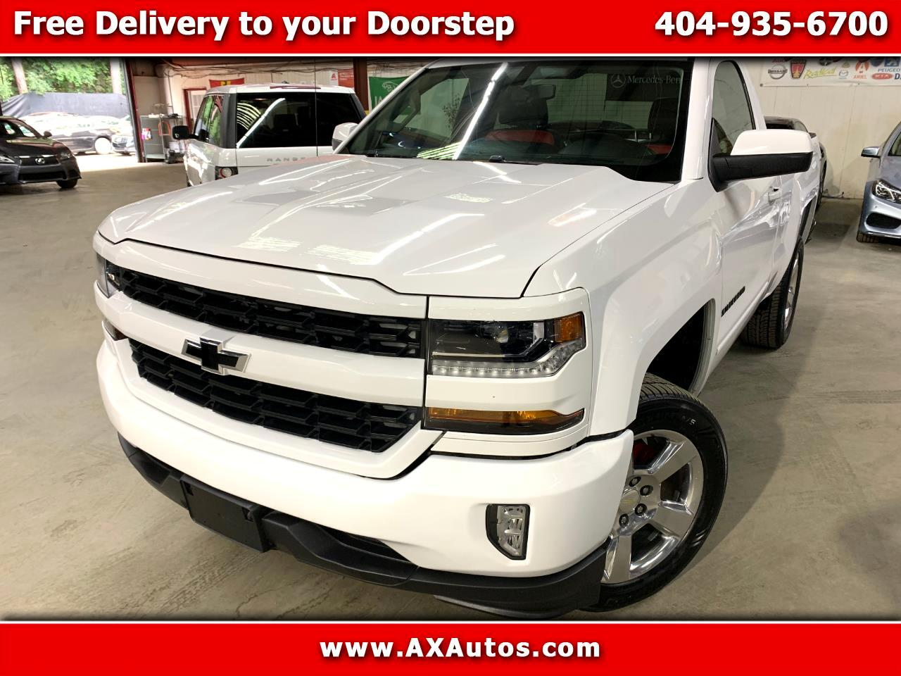 Chevrolet Silverado 1500 LT Short Box 2WD 2016