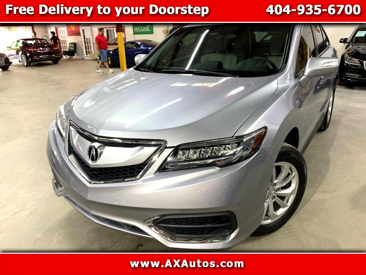 2017 Acura RDX 6-Spd AT