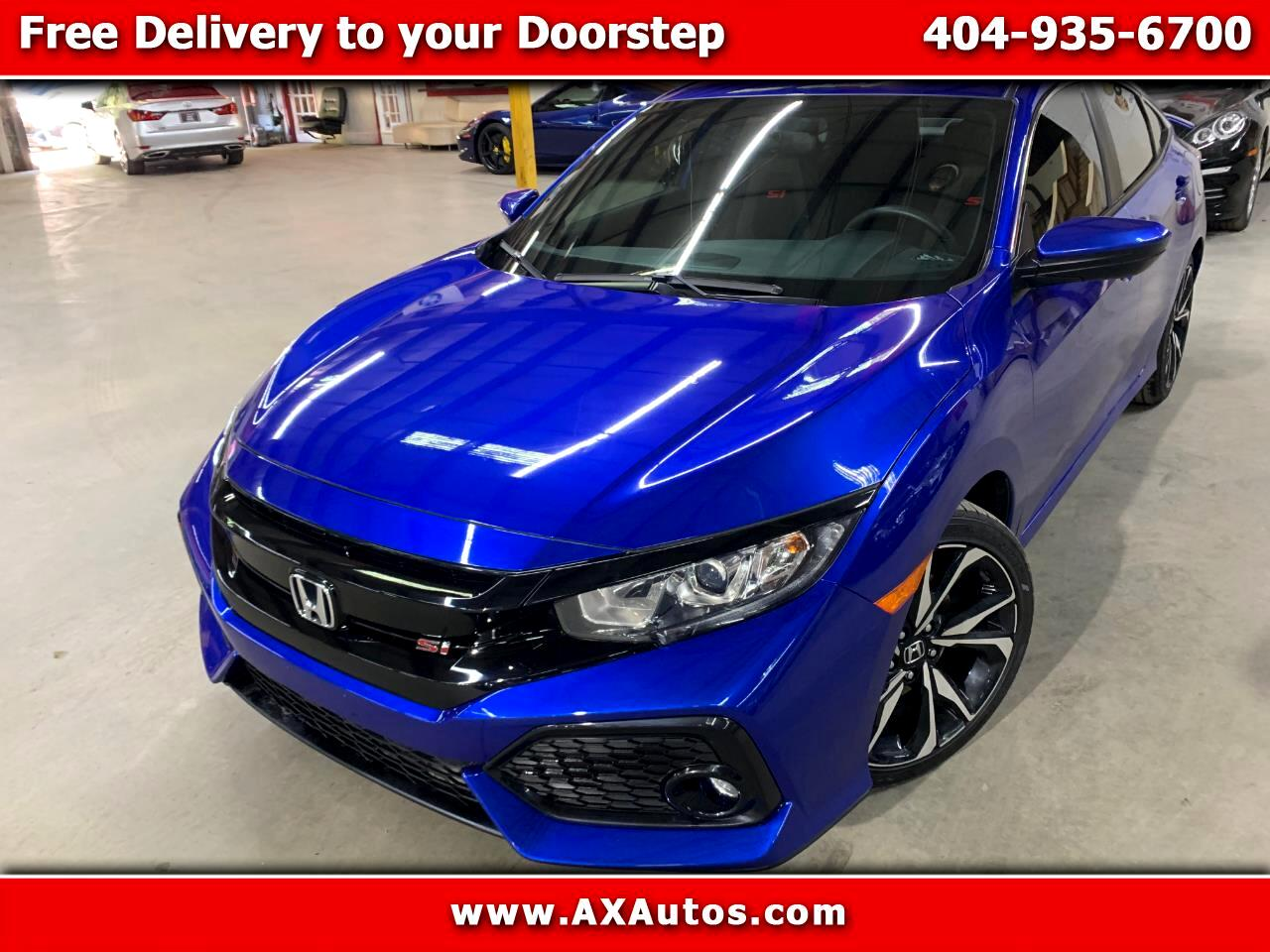 Honda Civic Si 4dr Sedan 6M 2018
