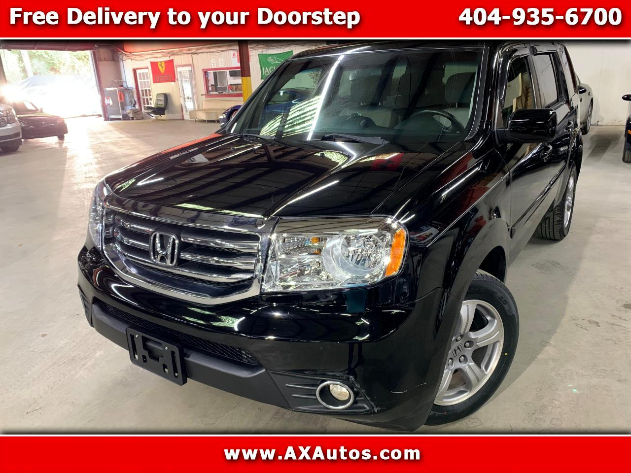 2013 Honda Pilot Ex L For Sale >> Used 2013 Honda Pilot 4wd Ex L At For Sale In Atlanta Ga