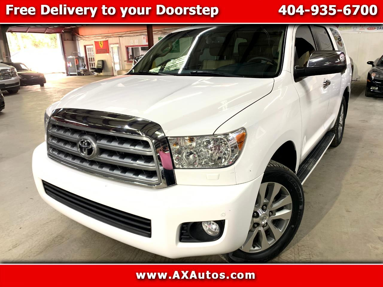 2013 Toyota Sequoia Limited 2WD