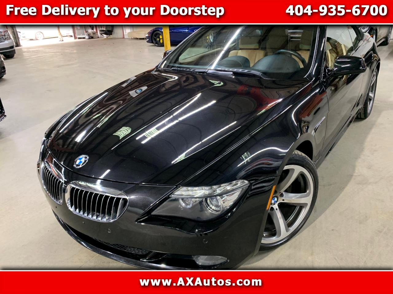 BMW 6-Series 650i Convertible 2010