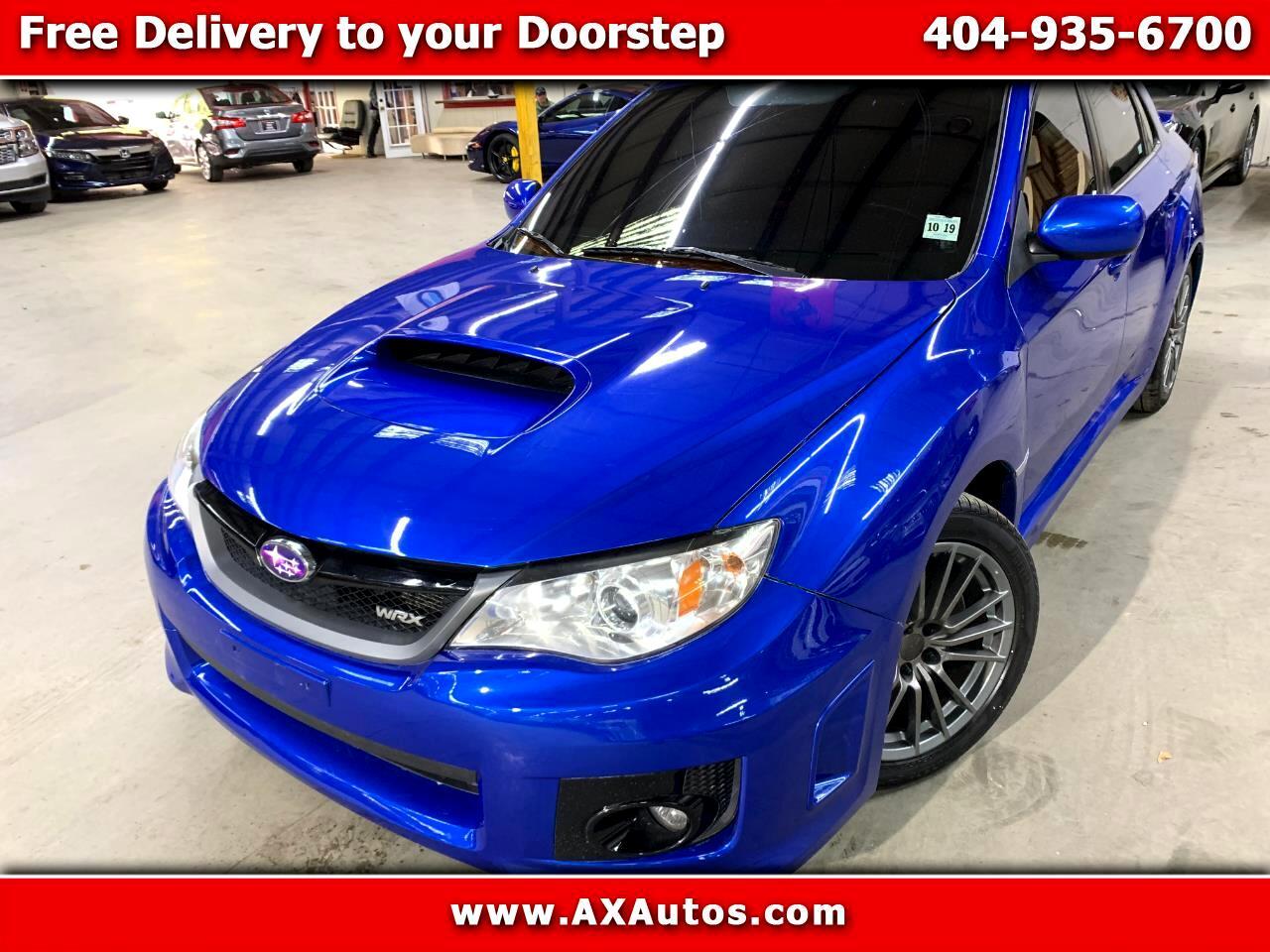 Subaru Impreza WRX 4-Door 2014